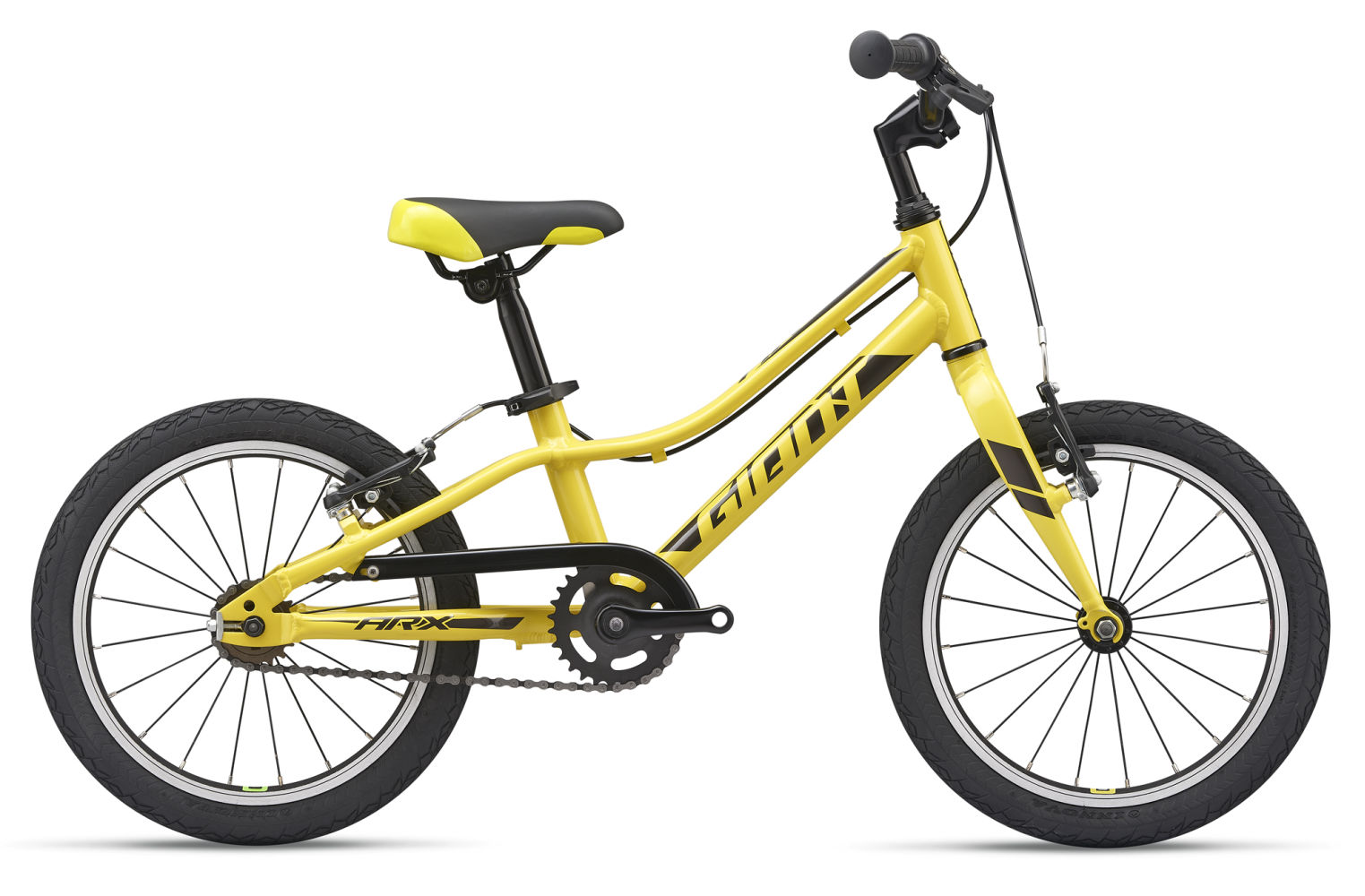 2019 Giant Arx 16 Childs Bike In Yellow 163 235 00